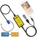 Patentado Original de Coche USB Adaptador de Audio AUX Mp3 Adaptador del Cambiador de CD para Seat Leon 2000-2005, 1999-2005 Toledo, 1999-2005 Vario