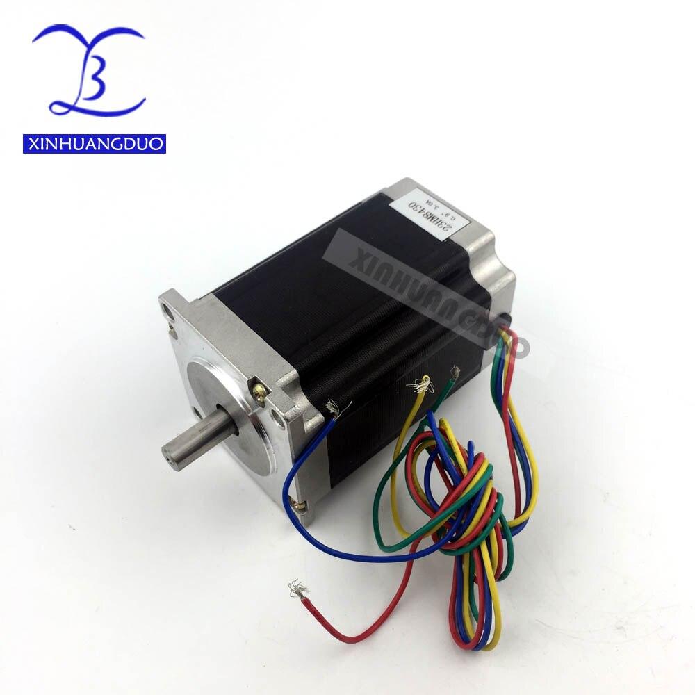2 phases NEMA 23 moteur pas à pas 82mm 3A 0.9 degrés 270oz-in CNC moteur pas à pas moteur pas à pas imprimante 3D Robot mousse plastique métal