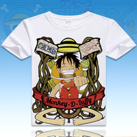 ONE PIECE Luffy Chopper Robin T Shirt Anime Japanese Famous Animation Novelty Summer Men S T
