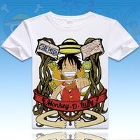 ONE PIECE Luffy Chopper Robin T Shirt Anime Japanese Famous Animation Novelty Summer Men S T