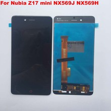 5.2 ل ZTE النوبة Z17 mini NX569J شاشة الكريستال السائل + TP اختبار جيدا محول الأرقام اللمس إحلال تركيبات الشاشة اكسسوارات الأصلي LCD