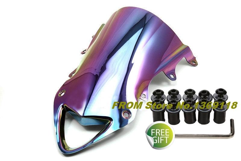 Motorcycle Iridium Windshield For BMW S1000RR 2009 2010 2011 2012 2013 2014 Motorbike Windscreen