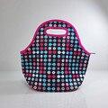 Moda neopreno aislado bolsa de almuerzo portátil térmica mujeres niños bebé caja de bolsas casuales totalizador impermeable envase de alimento ALB394G
