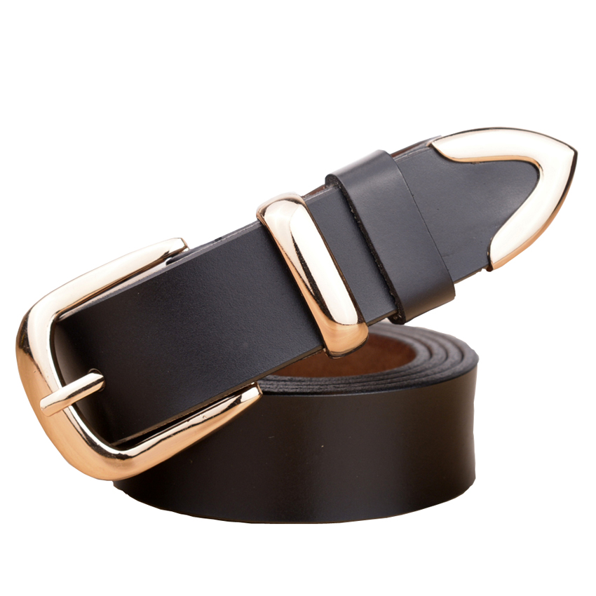 Real Cowskin Leather Fashion Designer Belts