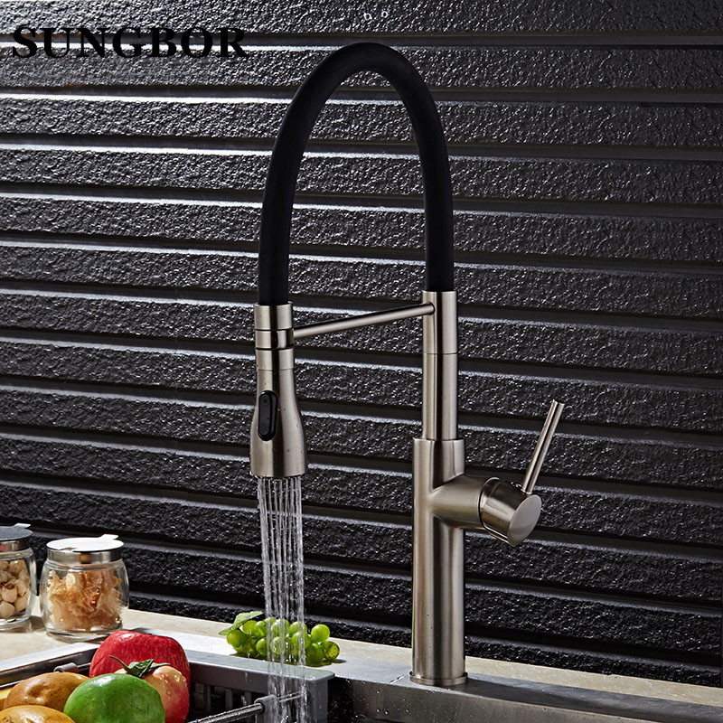 High quality chrome Kitchen faucet brass faucet hot and cold sink tap Water Tap kitchen sink