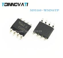10 шт./лот M95160-WMN6TP M95160-WMN6 M95160 95160WP 95160 SOP8 IC лучшее качество