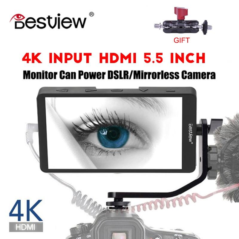 Bestview S5 5 5 inch 4K input narrow screen side monitor for SONY NIKON CANON DSLR