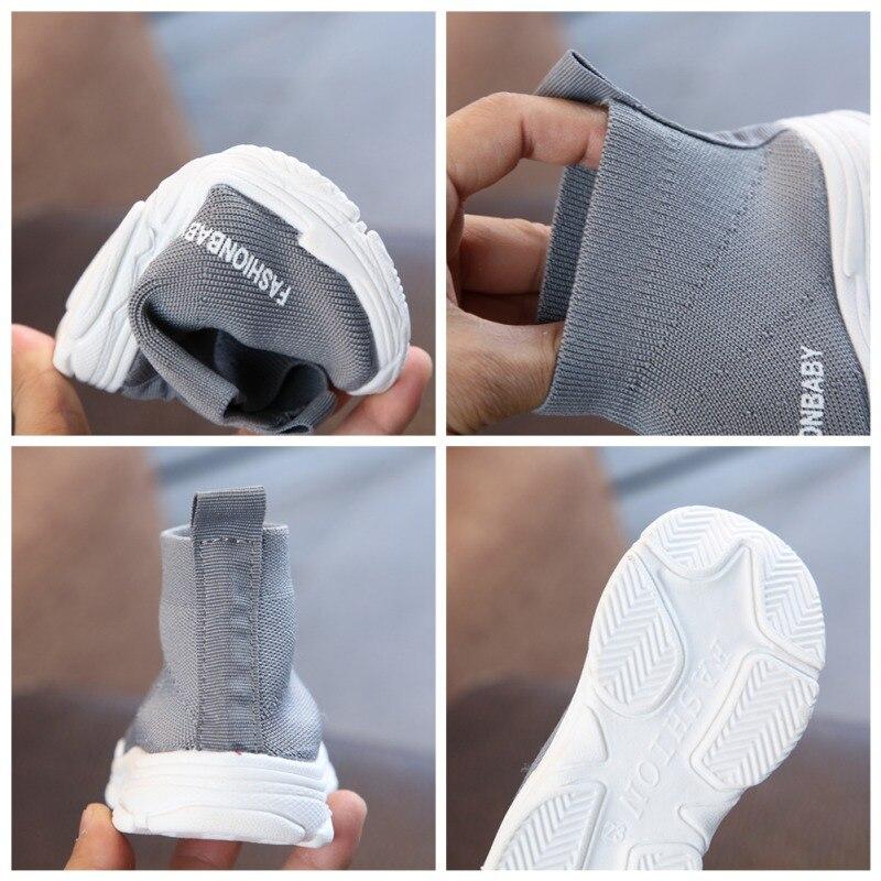 Mesh Knit Non-Slip Toddler Sneaker 6