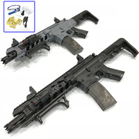 Toy Gun M4A1 Airsoft Air Guns And AR15 Toy Submachine Gun 621pcs Building Block Brick Kids Outdoor Game Model CS Cosplay#75