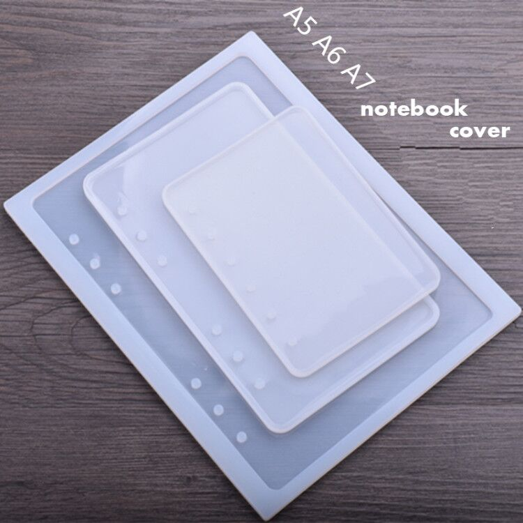 A 5/6/7 Notebook Cover Silicone Mold For Jewelry Resin Silicone Mould Handmade DIY Epoxy Resin Molds