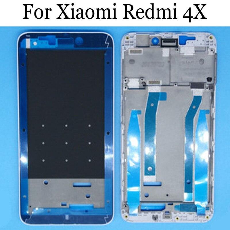 Original LCD Holder Screen Front Frame For Xiaomi Redmi 4X Housing Case Middle Frame For Xiaomi Redmi 4 X Spare Parts Redmi4X