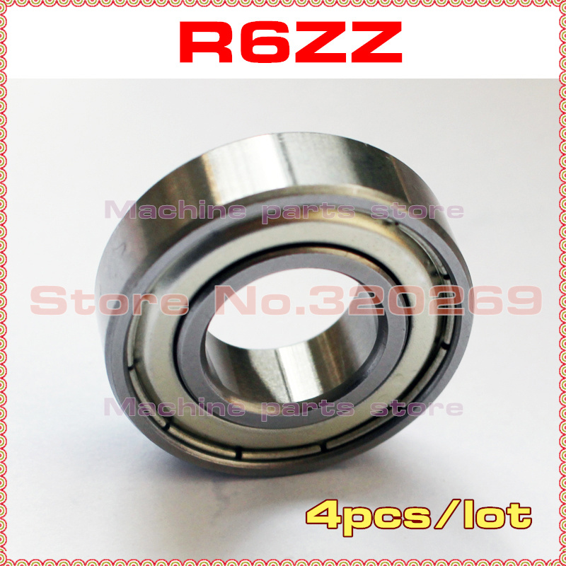 "10 R6ZZ 3//8/""x 7//8/""x 9//32/"" R6Z inch Miniature Ball Shielded Radial Ball Bearings"
