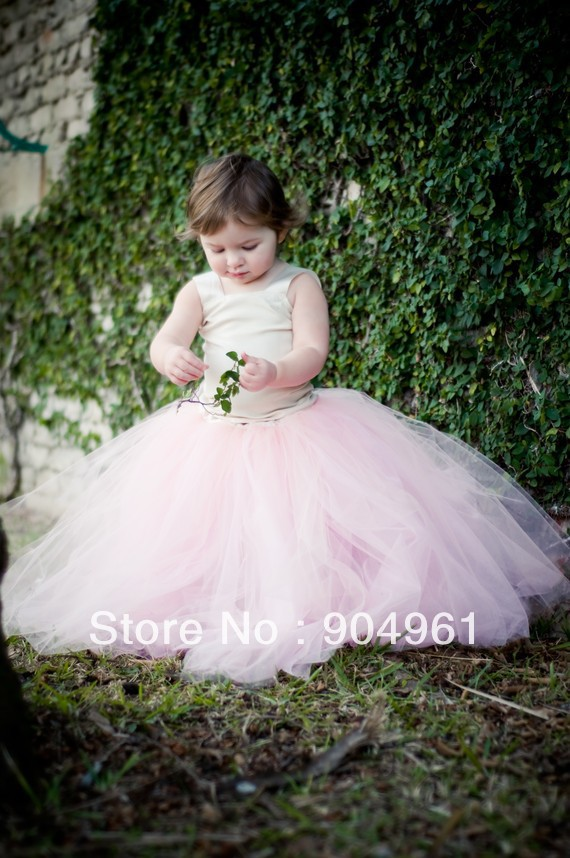 retail Tutu Baby Tutu The Pretty pink tutu skirt long skirt girls birthday skirt girls party skirt MOQ 1pc girls single breasted raw hem skirt