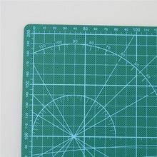 PVC Cutting Mat A4 Durable Self-healing Cut Pad Patchwork Tools Handmade Diy Accessory Cutting Plate Dark Green 30*22cm