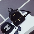 2016 Hot Fashion New Women Fashion Simple Candy Color Shoulders Bags Female Korean Students School Solid Color Mini Bagpacks