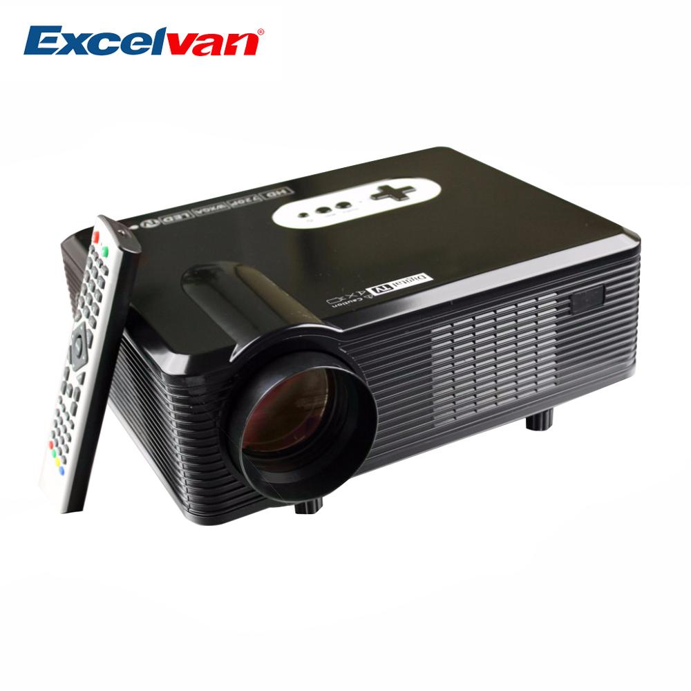 Prix pour HOT Excelvan CL720D Projecteur 3000 Lumens HD Home Cinéma 720 P soutien 1080 P Led Projecteur HDMI/VGA/USB/AV/DTV Proyector