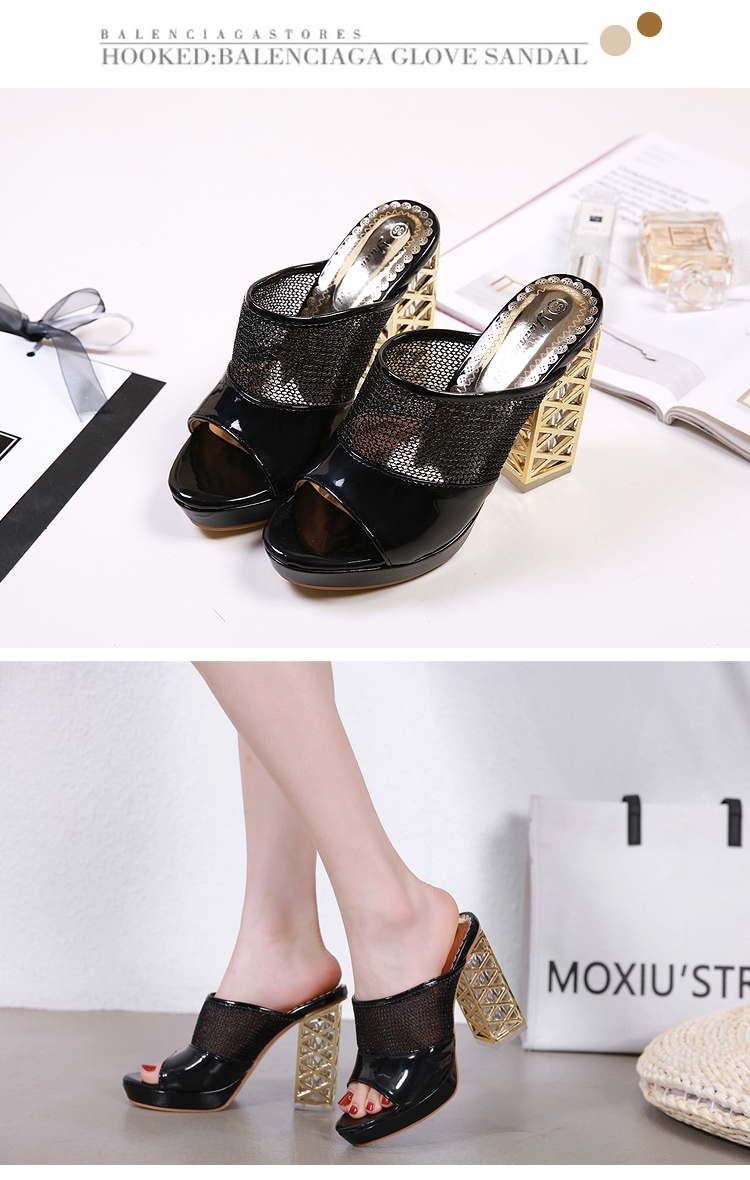 Summer Platform Sandals 2019 Fashion Women Gladiator Sandal Wedges Shoes Casual Woman Peep Toe Black Platform Sandals 38