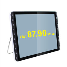 Newest 19 inch HD LCD screen elderly theater singing machine / video card machine can power Game consoles radio Speaker Player