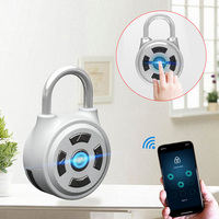 Smart Electronic Padlock APP Control Wireless Lock Keyless Password Lock Home Travel Suitcase