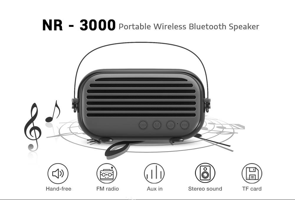 Newrixing Nr 3000 Speakers Portable Wireless Bluetooth 4 2 Edr Stereo Mini Player Built In Microphone Speaker Portable Speakers Aliexpress