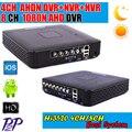 Мини DVR 4/8-КАНАЛЬНЫЙ DVR Рекордер Full HD P2P Облако DVR Рекордер HD1920 * 1080 Запись Видео системы 4CH AHD HVR Бесплатная Доставка