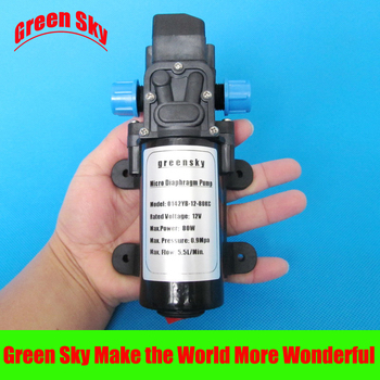 130PSI 80w 12v with on/off button and dc jack micro diaphragm water pump
