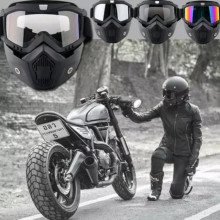 motorbike scooter universal transparent motocross goggles motorcycle glasses freeshipping