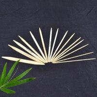 13 cm Bamboo DP Knitting Needles (US Kích Thước 0-15), 1 Bộ (75 Cái)