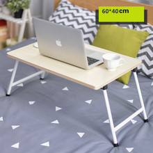 Simple foldable desk dormitory lazy learning table 60*40cm