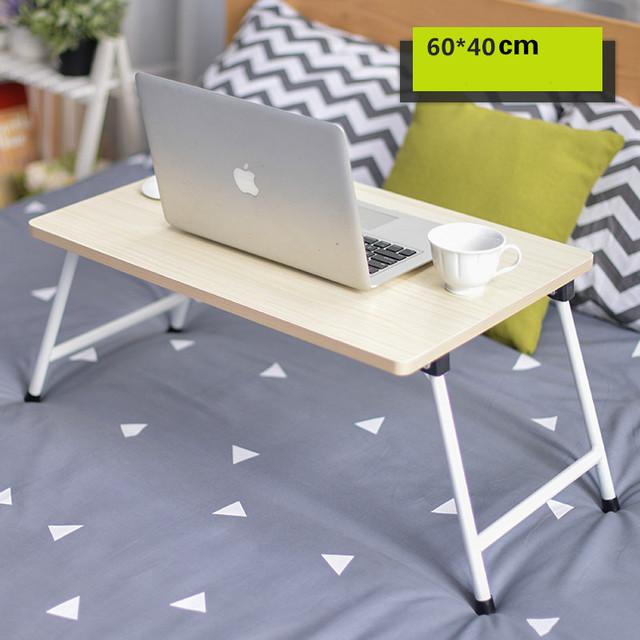 Simples dobrável desk preguiçoso dormitório aprendizagem mesa 60*40 cm