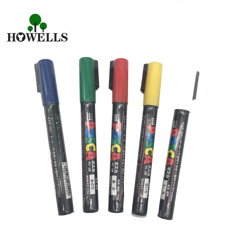 1pc POSCA Queen Bee Marking Marker Pen White//Yellow//Green//Blue Beekeeping