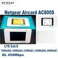 50pcs /Lots UNLOCKED Netgear Aircard AC800S 4G LTE 450mbps Mobile Hotspot WiFi Router