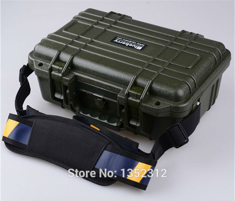 341*249*130mm IP68 Impact resistant sealed protection waterproof safety case canvas tool bag multifunction plastic tool box