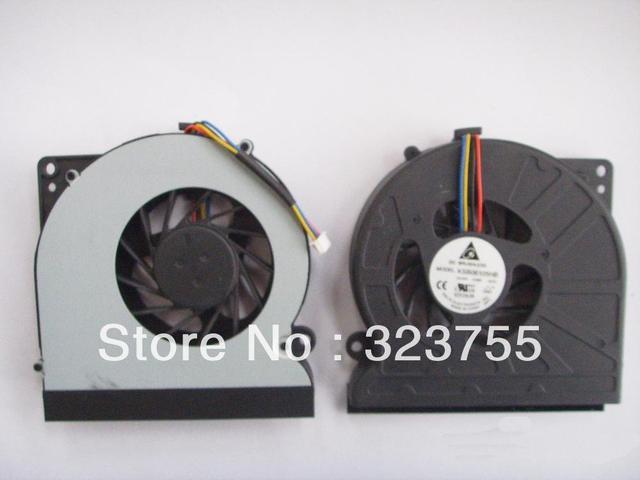 O envio gratuito de new fanksb06105hb fan cpu do portátil para asus n61 n61v n61jv n61jq