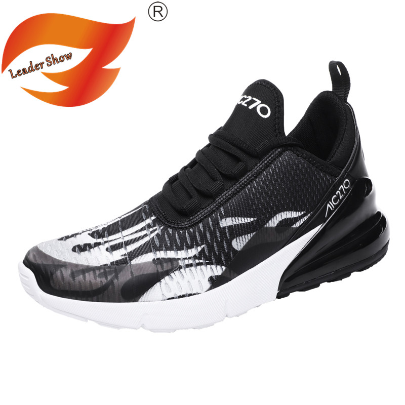 Leader Show Men Casual Shoes Soft Outdoor Brand Men Shoes Fashion Air Cushion Breathable Zapatillas Hombre Light Casual Shoes 46