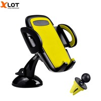 360 Degree Car Phone Holder For IPhone Samsung Car Air Vent Mount Stand Adjustable Mobile Phone