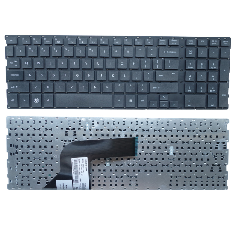 English Laptop Keyboard FOR HP ProBooK 4510s 4515s 4710 4710s 4750S US