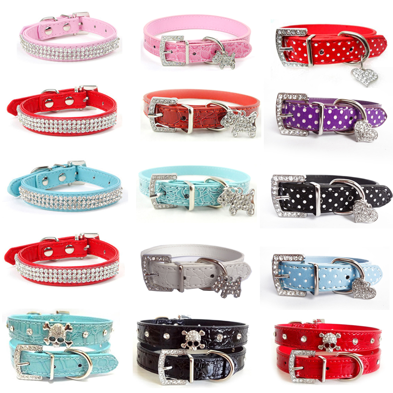 Dog Collars Pet for Small Puppy Buckle Dogs Leads Neck Strap Animal Supplies Accessories Leash and Harnesses