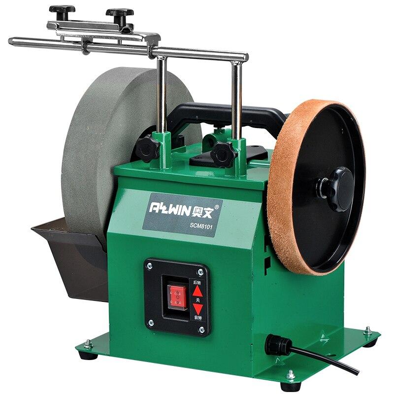 10 Inch Water cooled Sharpening Machine Bench Grinder Multifunction Belt Grinding Polishing Sanding Machine SCM8101