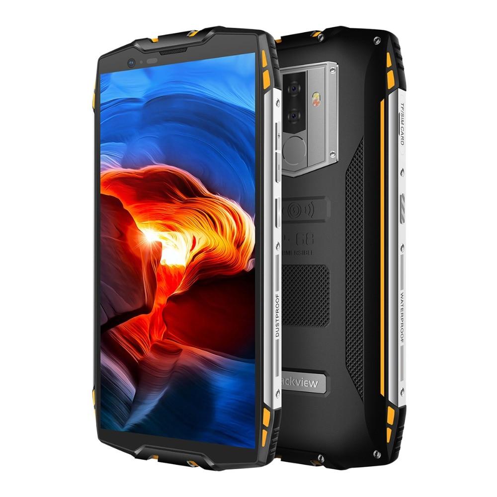 "HTB1B27aKeuSBuNjy1Xcq6AYjFXab Blackview BV6800 Pro Android 8.0 Outdoor Mobile Phone 5.7"" MT6750T Octa Core 4GB+64GB 6580mAh Waterproof NFC Rugged Smartphone"