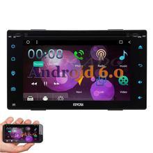 7 INCH Quad Core Car DVD gps navigation autoradio two 2din Android 6.0 2 Din Car DVD Player GPS Navigation Radio Audio Video