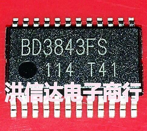 1pcs/lot BD3843FS-E2 BD3843FS TSSOP-24