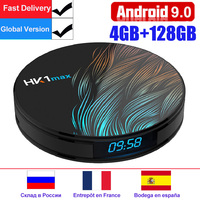 Android 9.0 Smart TV Box HK1 MAX Mini 2.4G/5G Wifi RK3318 Quad Core BT4.0 Set Top Box Media Player 4GB 64GB PK X96 mini H96 Max