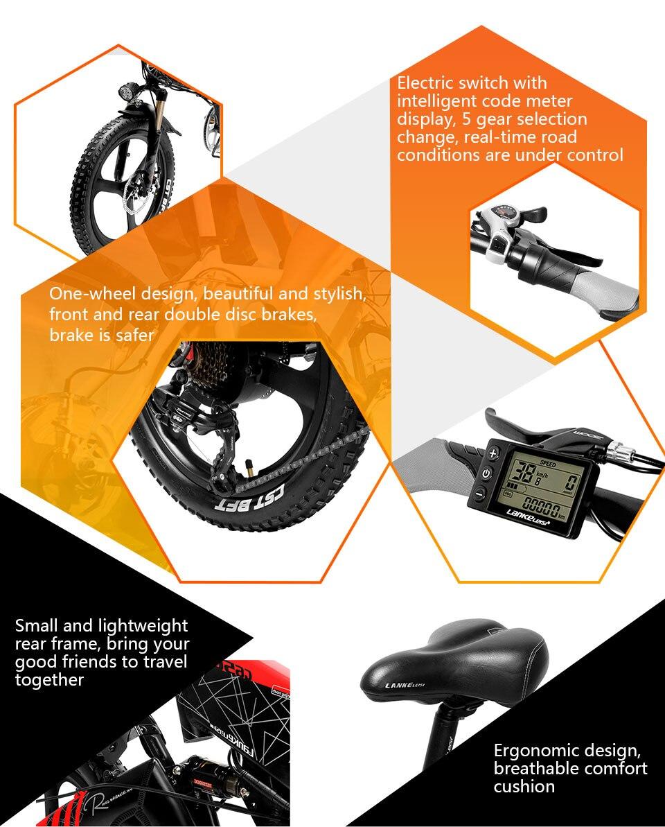 HTB1B28PatjvK1RjSspiq6AEqXXaf - Cyrusher G650 Upgraded model electrical bike three knife wheel 48V 12.8AH 52 part 2600MAH li Electrical bicycle with sensible odometer