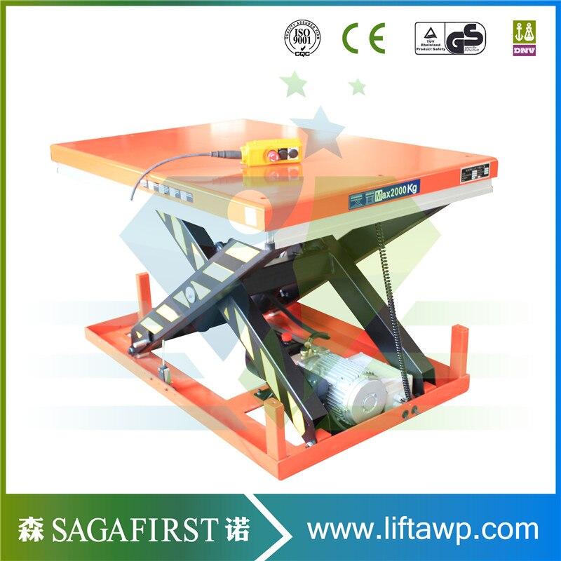 Chinese Hydraulic Platform Lifting Single Scissor Lifter