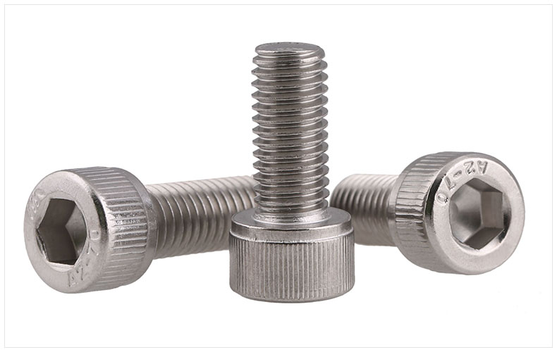 M6 304 Stainless Steel ss Metric Thread DIN912 Allen Head Bolt Hex Hexagon Socket Cap Screw free shipping 100pcs lot metric thread din912 m4x12 mm m4 12 mm 304 stainless steel hex socket head cap screw bolts