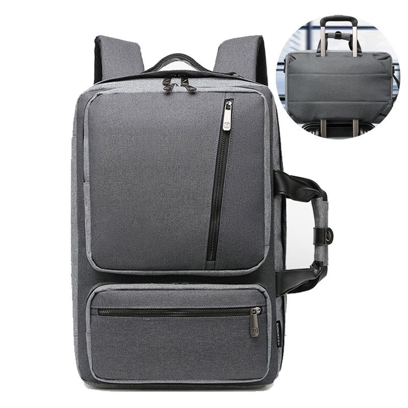 Convertible Briefcases Large Nylon Computer Notebook Bag Waterproof Travel Rucksack For Men Women Maletin Portatil 15.6 XA227ZC