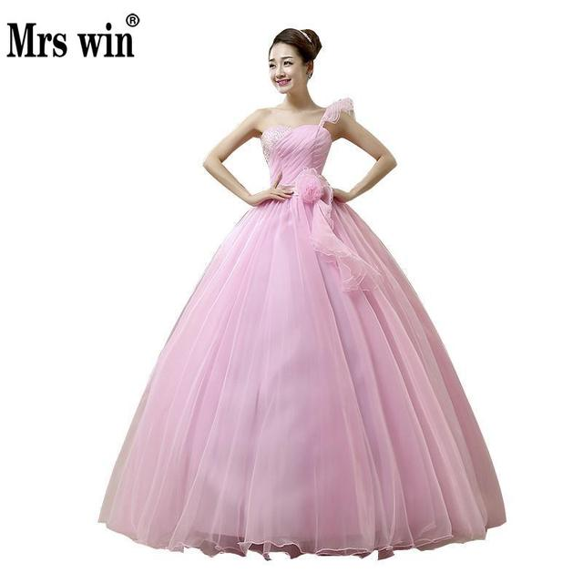 Quinceanera Dresses 2017 Sweet Flowers Crydtal Luxury Ball Gown ...
