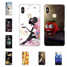 For Xiaomi Redmi S2 Y2 Case Ultra Thin Soft TPU Silicone Cover Animal Patterned Capa Bag