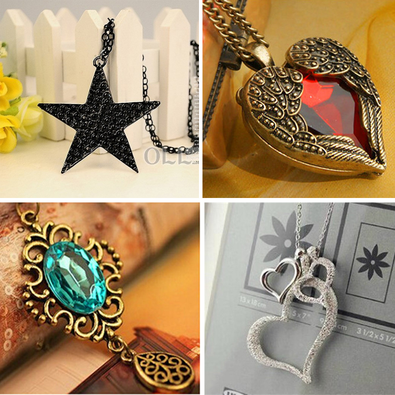 High Quality Fashion Vintage Jewelry Accessories Bohemia Long Design Retro Gem Rhinestone